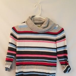 Crazy Eight girls sweater roll sleeves size 7 8